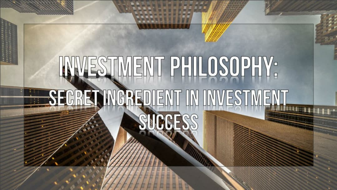 Investment Philosphy Course