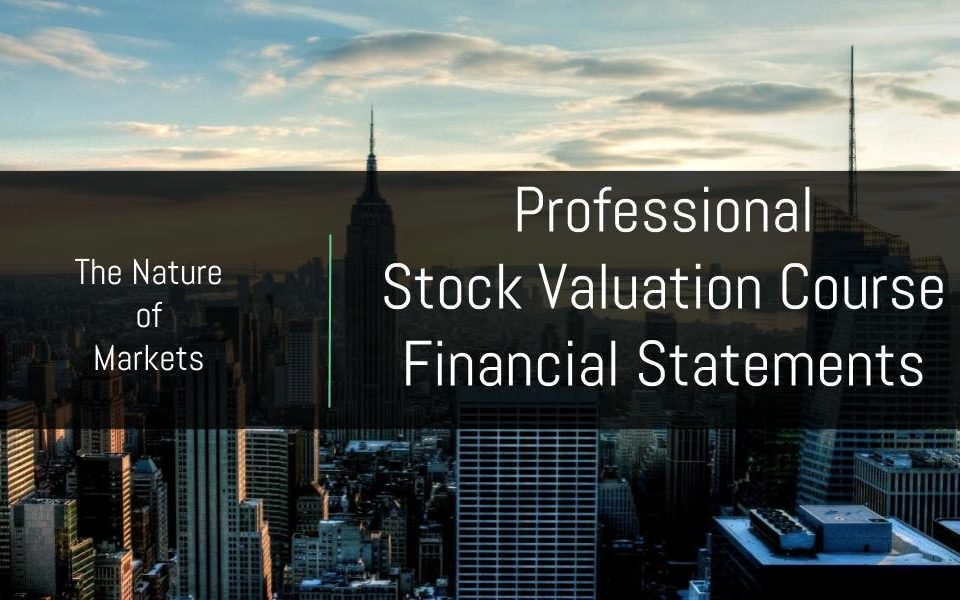 Stock Investment Course Financial Statements Course
